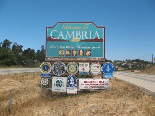 Cambria Sign